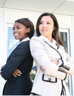 Intelligent business women