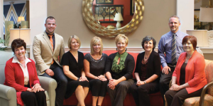 staff of Oskar Huber Furniture